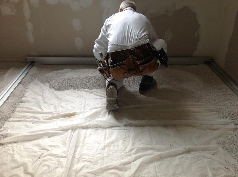 Impianto a pavimento a secco