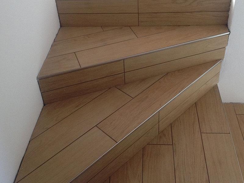 Fotogallery geometrie pose pavimentazioni posa - Scale in ceramica ...
